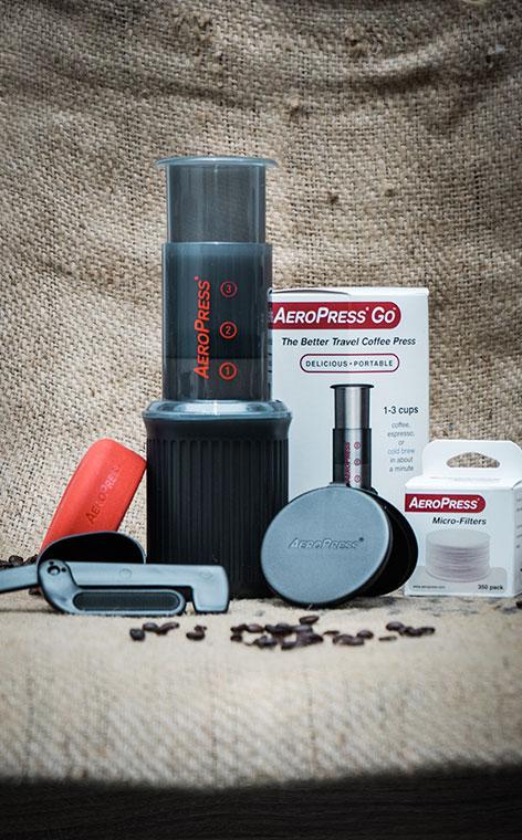AeroPress® GO - Coffee Maker | Kompaktowy zaparzacz do kawy