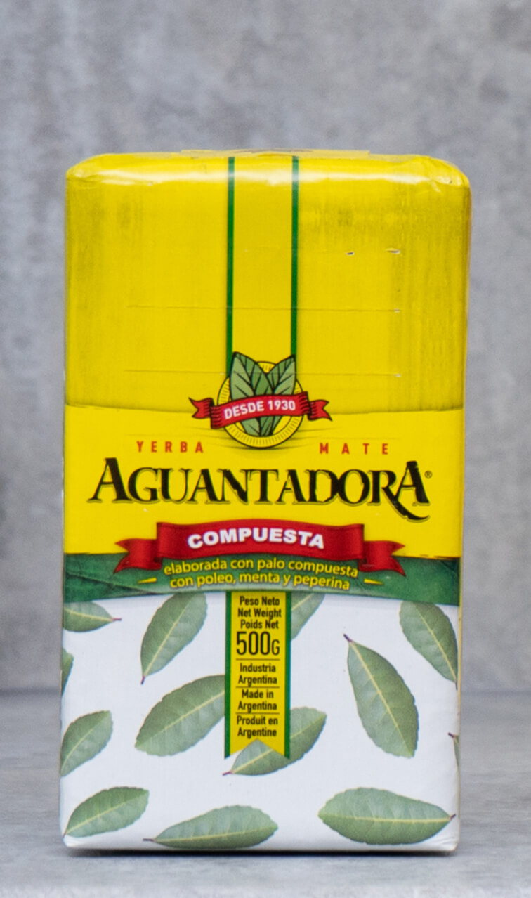 Aguantadora - Compuesta   yerba mate ziołowa   500g
