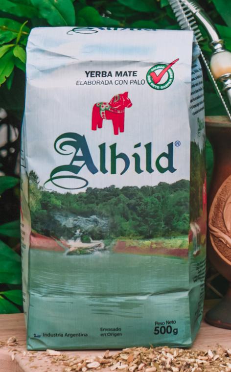 Alhild - Elaborada con palo | rzemieślnicza yerba mate | 500g