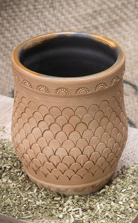 Matero - Dragon naczynie do yerba mate | rękodzieło | ok. 320 ml