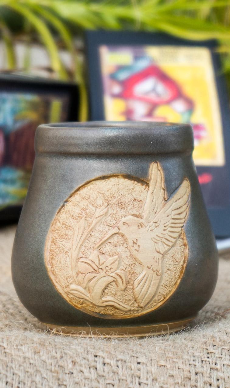 Tykwa - Paja Ceramiczna | naczynie handmade do yerby | ok. 300 ml