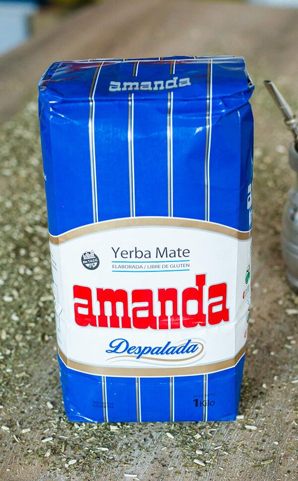 Amanda - Despalada | yerba mate | 1kg