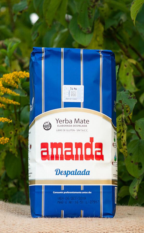 Amanda - Despalada | yerba mate | 500g