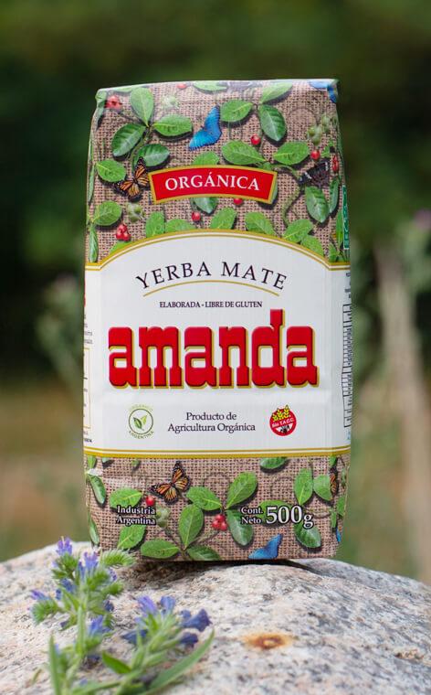 Amanda - Elaborada Organica | yerba mate | 500g