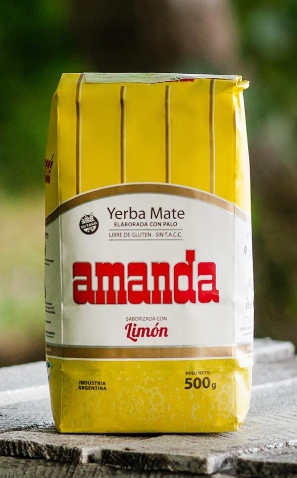 Amanda - Limon Cytrynowa | yerba mate | 500g