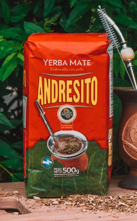 Andresito   Elaborrado con palo   yerba mate   500g