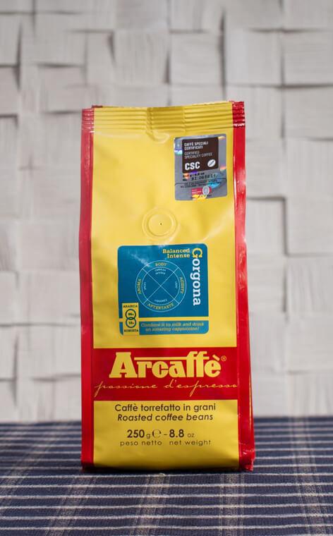 Arcaffe - Gorgona | kawa ziarnista | 250g