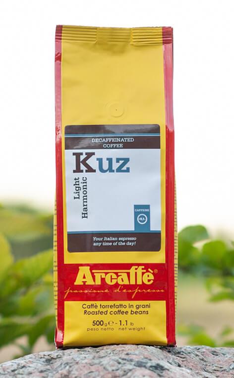 Arcaffe - Kuz | kawa bezkofeinowa | ziarnista | 500g