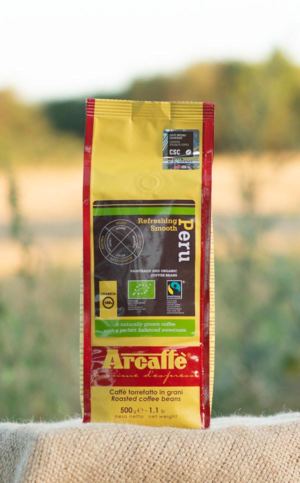 Arcaffe - Peru FTO | kawa ziarnista | 500g