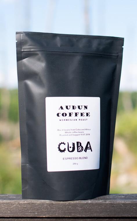 Audun Coffee - Cuba espresso blend | kawa ziarnista | 250g