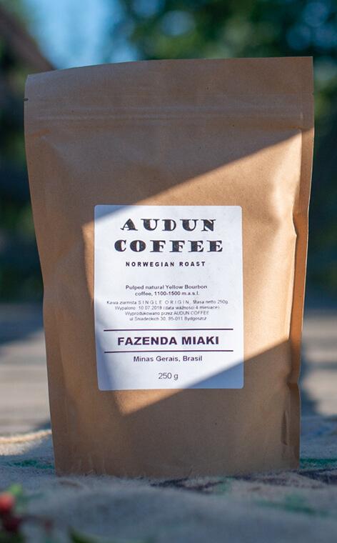 Audun Coffee - Fazenda Miaki | kawa ziarnista | 250g