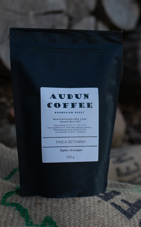 Audun Coffee - Nicaragua Finca Bethania | kawa ziarnista | 250g