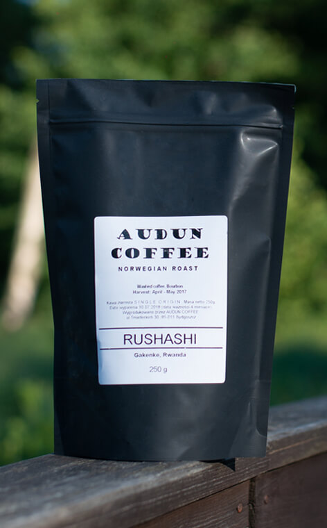 Audun Coffee - Rwanda Rushashi | kawa ziarnista | 250g