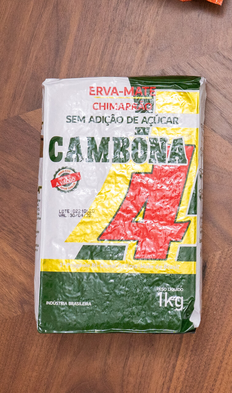 Barao - Cambona 4 | yerba mate chimarrao | 1kg