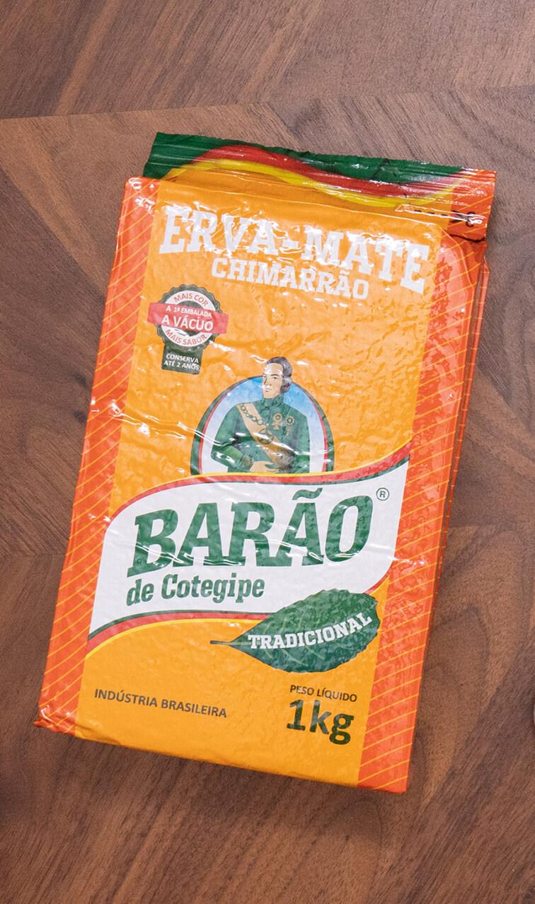 Barao - De Cotegipe Tradicional   yerba mate chimarrao   1kg