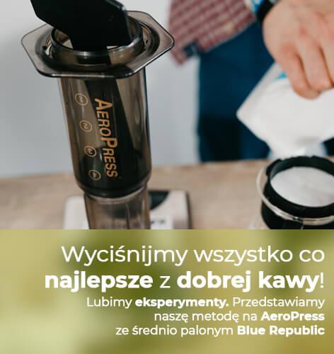 Aeropress - Wyciśnijmy wszystko co najlepsze z dobrej kawy!