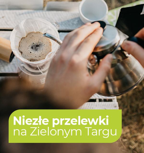Drip, Pour Over, metoda przelewowa lub inaczej sączeniowa, filtrowana. Jest to jedna z metod alternatywnych parzenia kawy. Sprawdź na ZielonyTarg.pl  | ZielonyTarg.pl
