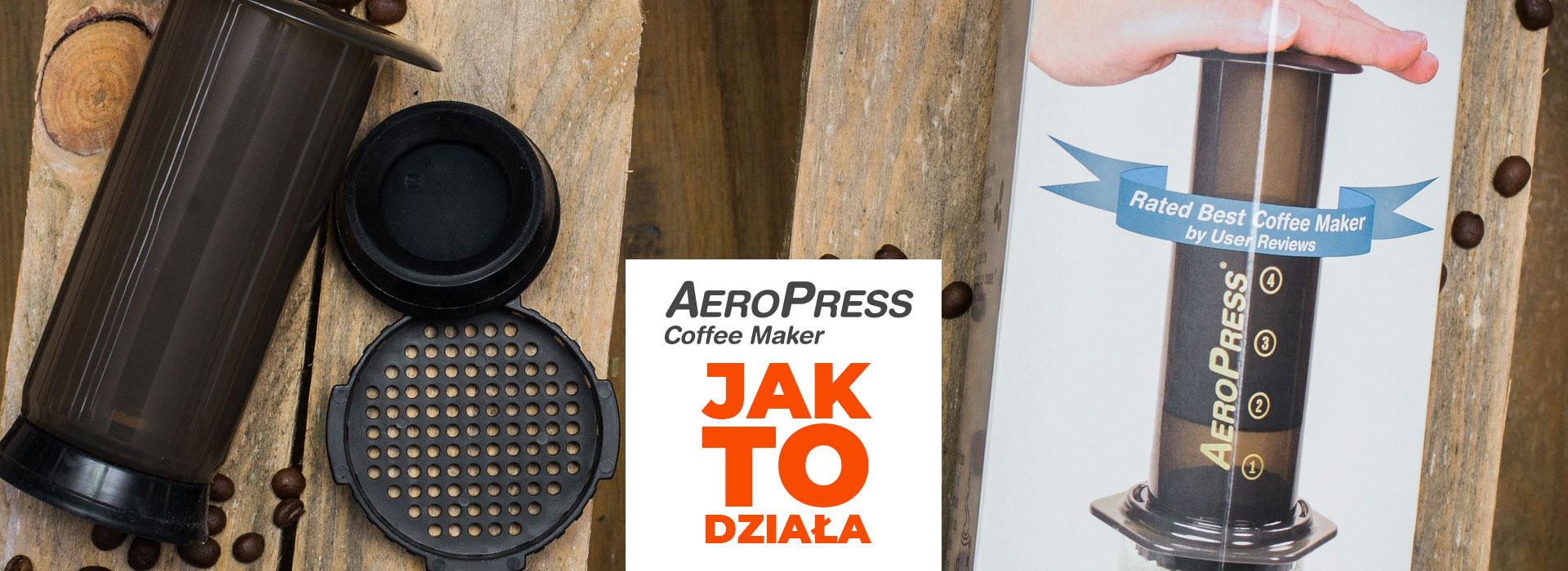 AeroPress® to zaparzacz, który tłoczy najlepszą kawę pod słońcem!Dowiedz się jak działa.        | ZielonyTarg.pl