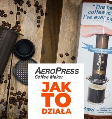 AeroPress® - tłoczy najlepszą kawę pod słońcem! Ale jak to w ogóle działa?