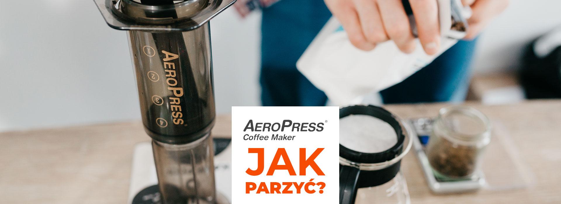 Zaparzenie kawy w AeroPress ®  jest banalnie proste. Sprawdź metodę tradycyjną i odwróconą.           | ZielonyTarg.pl