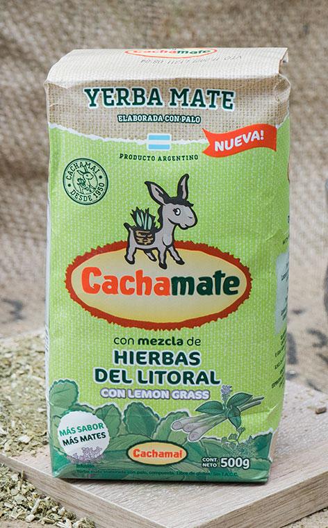 Cachamate - Hierbas del Litoral | yerba mate ziołowa | 500g