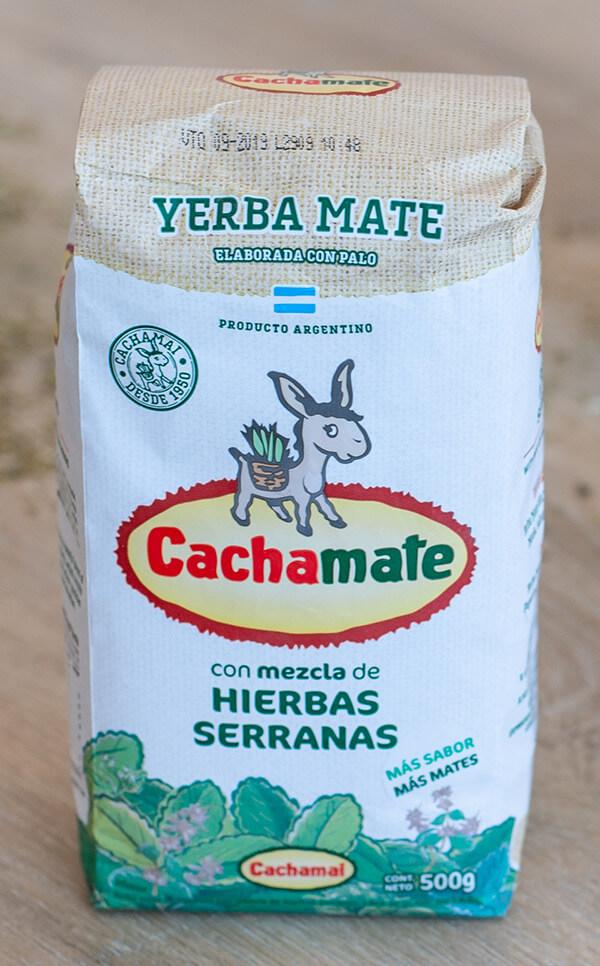 Cachamate - Hierbas Serranas | yerba mate | 500g