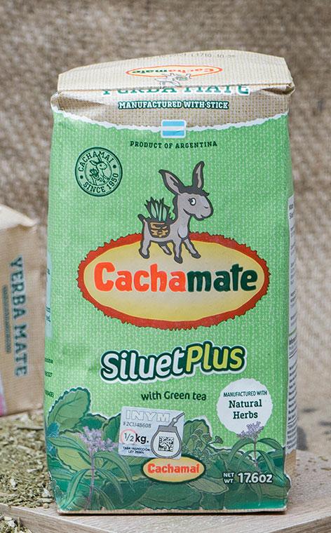 Cachamate - Siluet Plus | yerba mate ziołowa | 500g