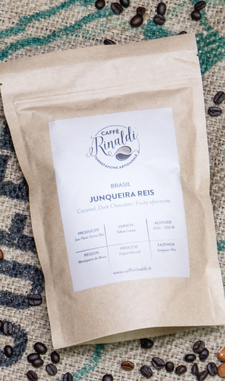 Caffe Rinaldi - Brazil Fazenda Junqueira Reis | kawa ziarnista | 250g