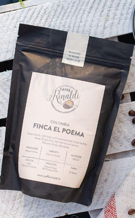 Caffe Rinaldi - Columbia Finca El Poema | kawa ziarnista | 250g