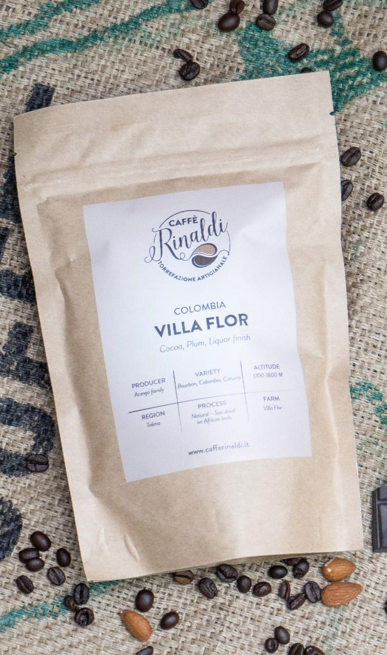 Caffe Rinaldi - Columbia Villa Flor | kawa ziarnista | 250g