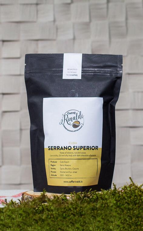 Caffe Rinaldi - Cuba Arabica Serrano Superior | kawa ziarnista | 250g