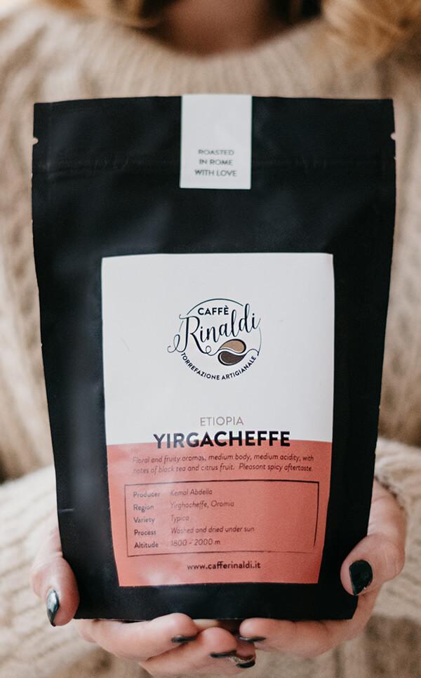 Caffe Rinaldi - Etiopia Arabica Yirgacheffe | kawa ziarnista |250g