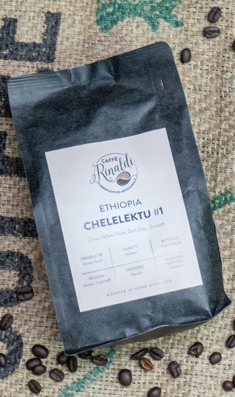 Caffe Rinaldi - Etiopia Chelelektu | kawa ziarnista | 250g