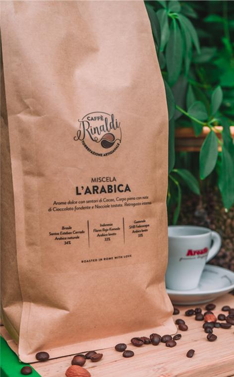 Caffe Rinaldi - L'Arabica | kawa ziarnista | 1kg