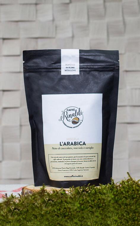 Caffe Rinaldi - L'Arabica | kawa ziarnista | 250g