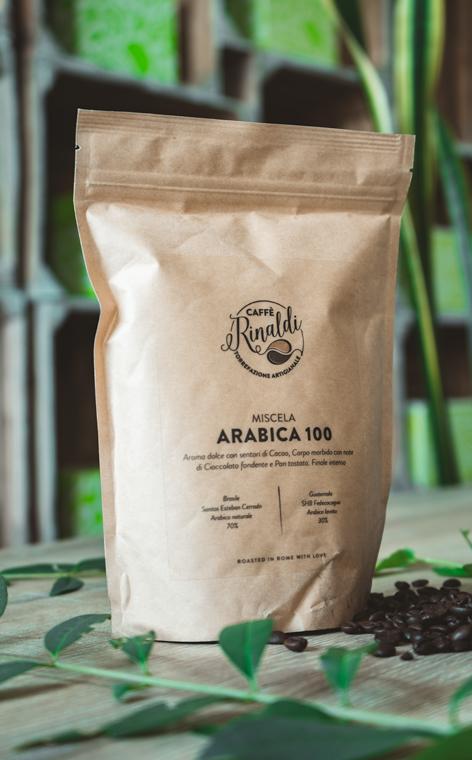 Caffe Rinaldi - Miscela Arabica 100 | kawa ziarnista | 250g