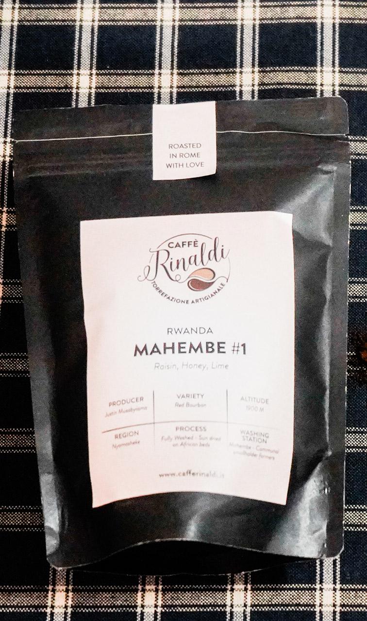 Caffe Rinaldi - Rwanda Mahembe | kawa ziarnista | 250g