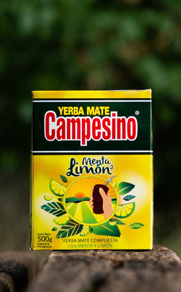 Campesino - Menta Limon Miętowo Cytrynowa | yerba mate | 500g