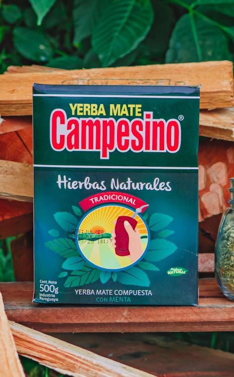 Campesino - Hierbas Naturales Tradicional | yerba mate | 500g