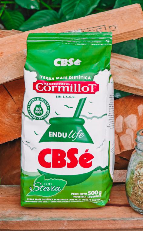 CBSe - Endulife Con Stevia | yerba mate | 500g