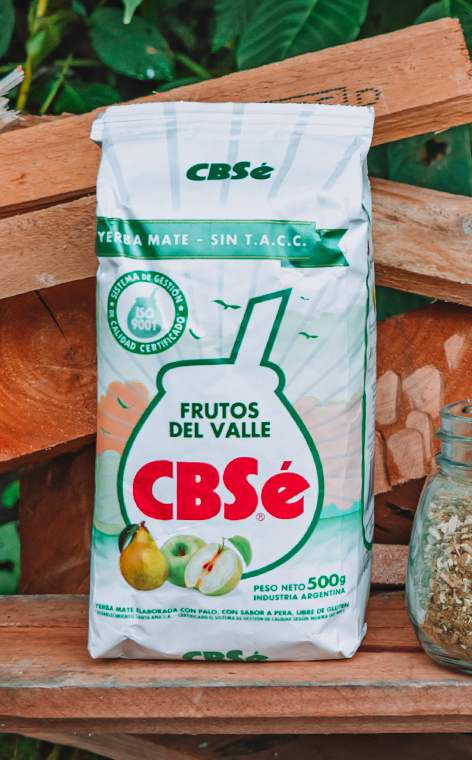 CBSe - Frutos del Valle Owoce Doliny   yerba mate   500g
