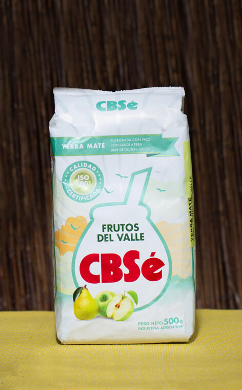 CBSe - Frutos del Valle Owoce Doliny | yerba mate | 500g