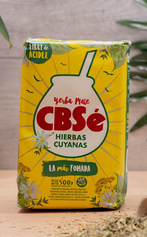CBSe - Hiberas Cuyanas | yerba mate ziołowa | 500g