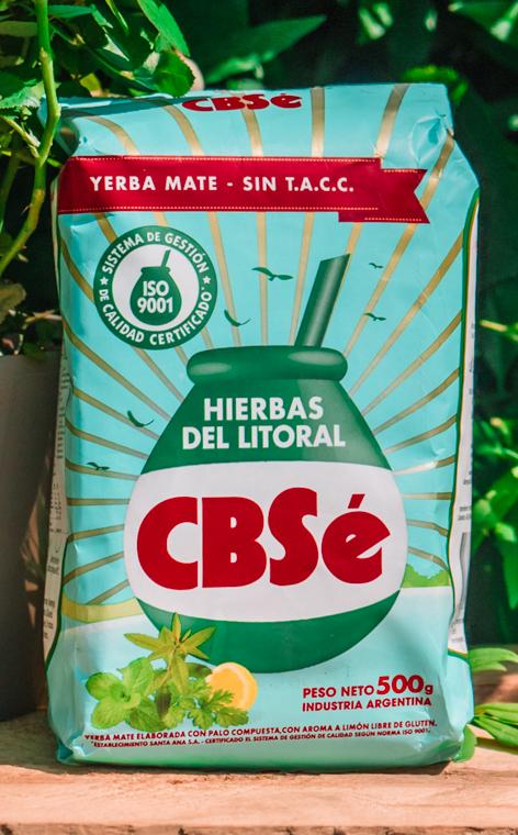 CBSe - Hierbas del litoral   yerba mate   500g