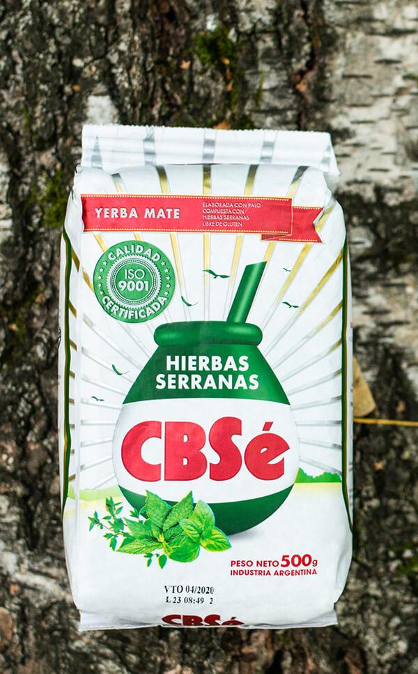 CBSe - Hierbas Serranas | yerba mate | 500g