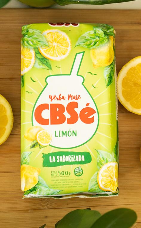 CBSe - Limon Cytrynowa | yerba mate | 500g