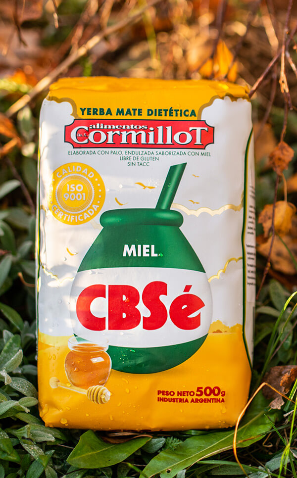 CBSe - Miel miodowa | yerba mate | 500g