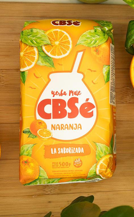 CBSe - Naranja Pomarańczowa | yerba mate | 500g