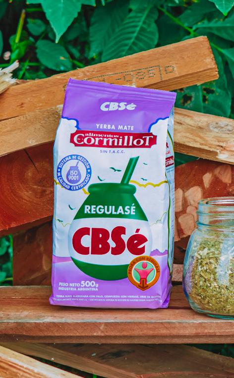 CBSe - Regulase   yerba mate   500g