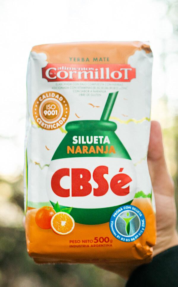 CBSe - Silueta Naranja Pomarańczowa | yerba mate | 500g